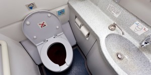 Airplane lavatory/toilet