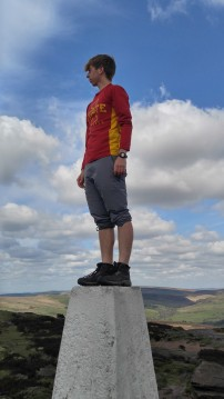 Tyler - Atop Peak in Peak District