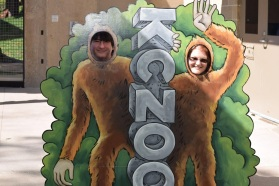 Kansas City Zoo - Sandy and Hubby